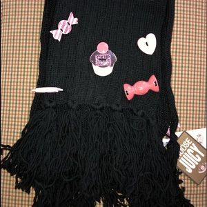 NWT Juicy Couture Adorable Wool Scarf
